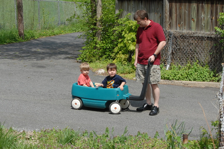 Easter wagon ride